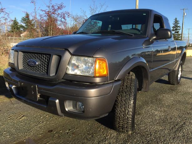 2004 ford ranger edge v6 automatic outside nanaimo nanaimo. Black Bedroom Furniture Sets. Home Design Ideas