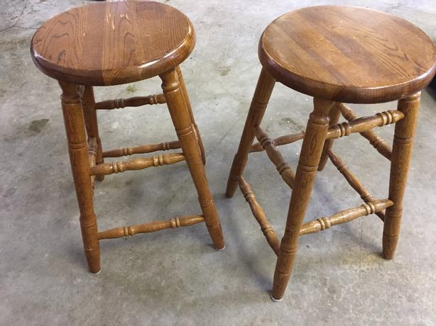 2 Bar Stools For Sale