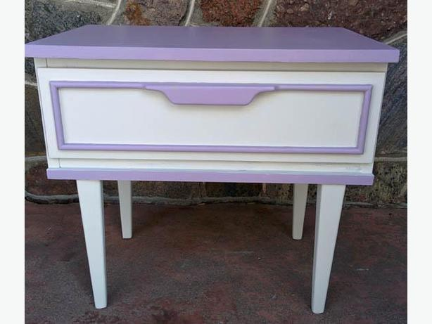 Side/Night Table With one Drawer perfect for little girl room