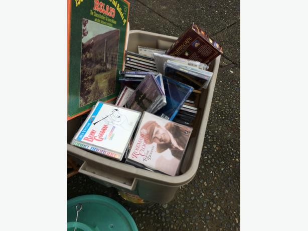 FREE: a box of CD s