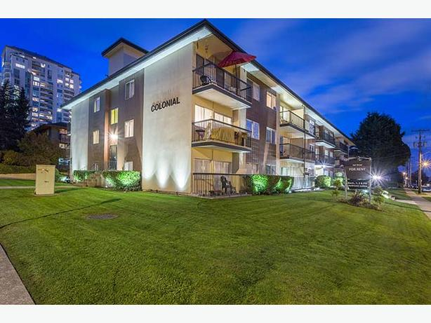 Avail. Jan  Cute  1 bedroom New Westminster Colonial House Apartments