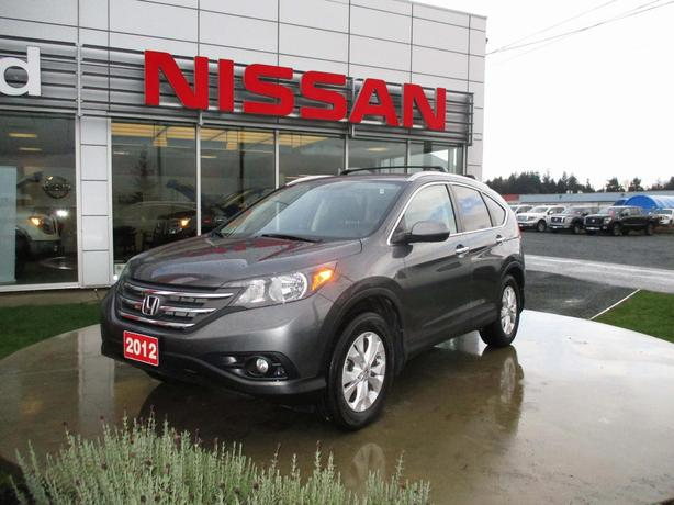 2012 HONDA CR-V TOURING AWD | LEATHER