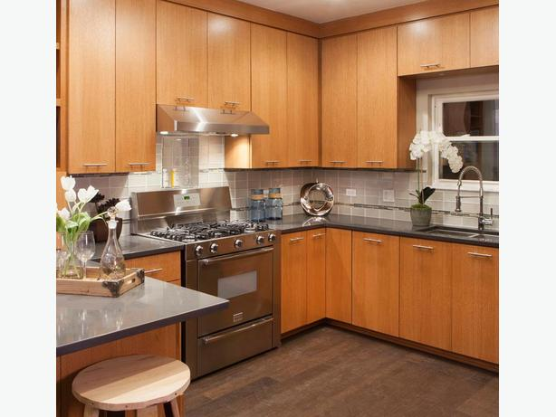 Kitchen cabinets and furniture hand crafted all wood for Cost of wood cabinets