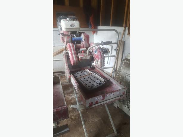 MK Gas Powered Masonry Chop Saws