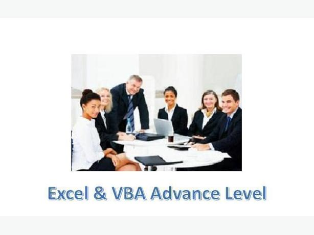 Excel VBA Macro Training Advance By Topics Consumers Road GTA Jobs