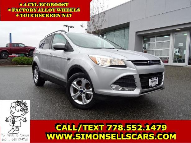 2013 FORD ESCAPE SE - ECOBOOST - LOADED WITH TOUCHSCREEN NAV!