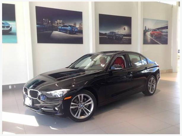 2012 BLACK BMW 320i SEDAN 53,433KM LEATHER/SUNROOF>Certified Pre-Owned