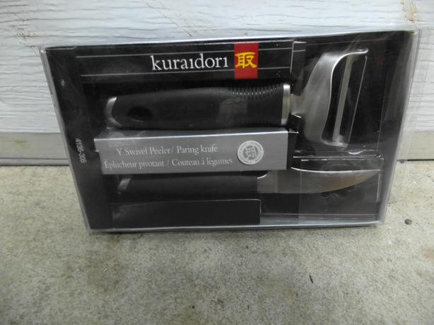 Kuraidori peeler/paring knife set