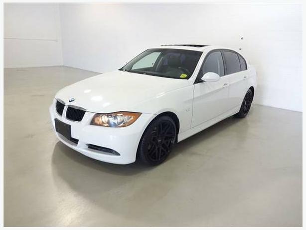 2006 WHITE BMW 325i 4DR SUNROOF/LEATHER/AUTOMATIC >Certified Pre-Owned