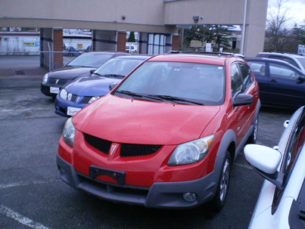 2003 Pontiac Vibe AWD, sunroof, 114000 km,
