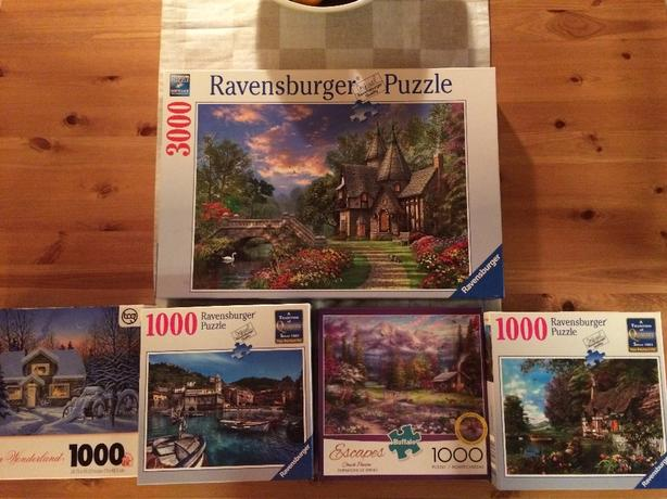 5 Puzzles - Great Christmas Gift