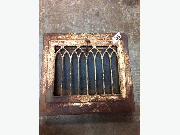 old iron rusty