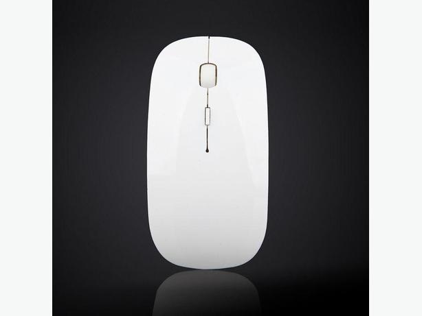 USB Wireless Mouse - White