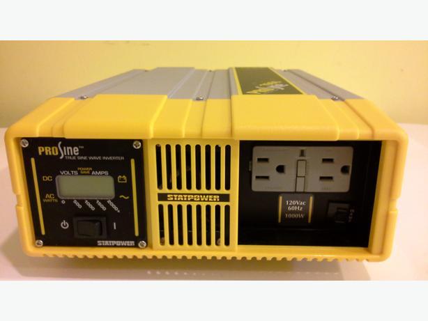 Xantrex PROsine 1000W AC Inverter 12Vdc 120V/60Hz