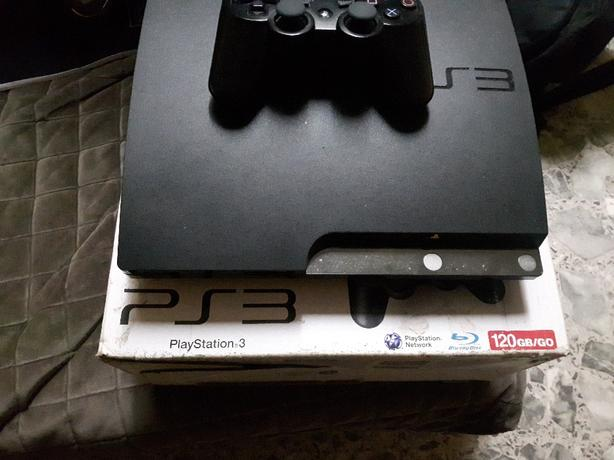 PS3 Slim 120Gb HD