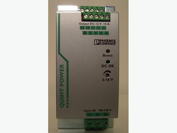 Phoenix Contact din rail mount 12V 15A Power Supply