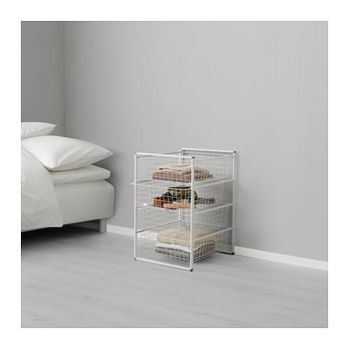 Ikea antonius frame s and wire basket s and drawer s for Ikea basket drawers