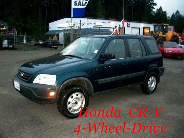 *** HONDA  CR-V !!  ONE  OWNER !!  ALL  WHEEL  DRIVE !! ***