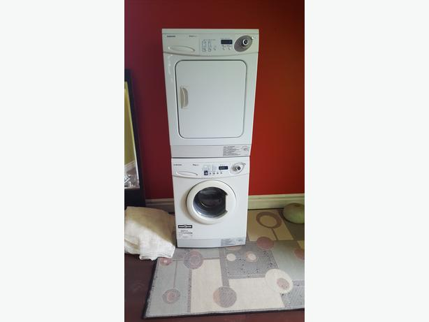 Stackable apartment size washer dryer central regina regina - Apartment size stackable washer and dryer ...