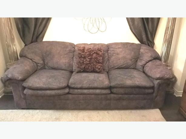 Super Comfy 7ft Long Brown Couch Can Deliver Gloucester