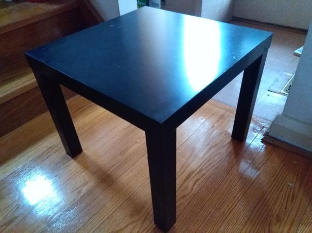 ikea lack end table black etobicoke toronto. Black Bedroom Furniture Sets. Home Design Ideas