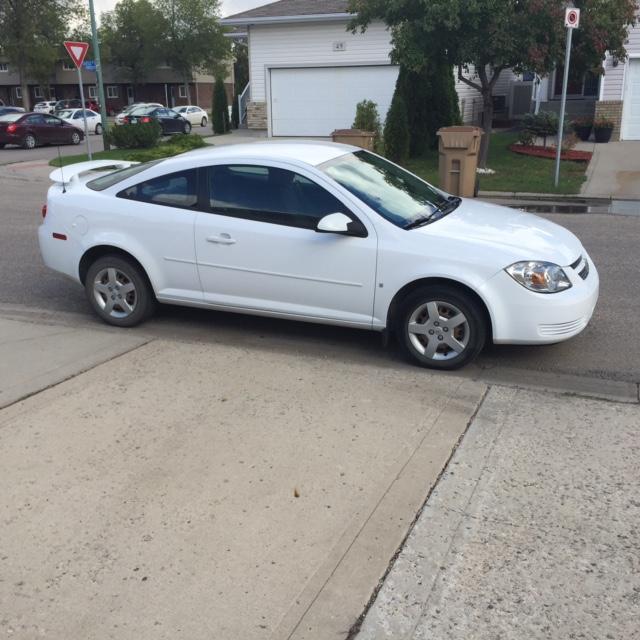 2008 White Chevrolet Cobalt 2dr South Regina Regina Mobile