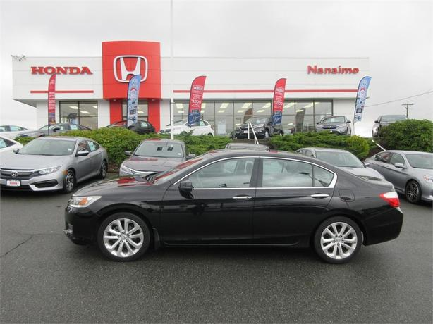 2013 Honda Accord Sedan Touring Leather !