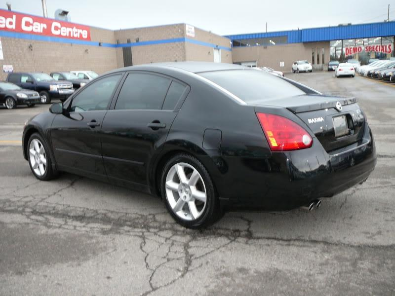 2004 Nissan Maxima 3 5 Se 265hp Sunroof Leather Gt Certified Pre Owned Vancouver City Vancouver