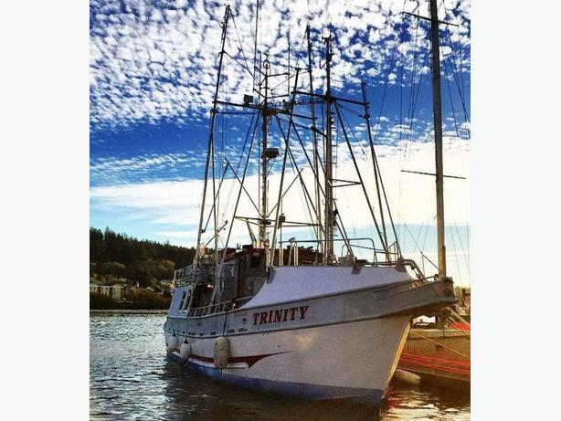 Troller and Oregon Salmon Permit for Sale - 1995 Aluminum 60'- Trinity