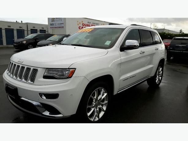 used 2014 jeep grand cherokee summit for sale in parksville outside comox valley courtenay comox. Black Bedroom Furniture Sets. Home Design Ideas
