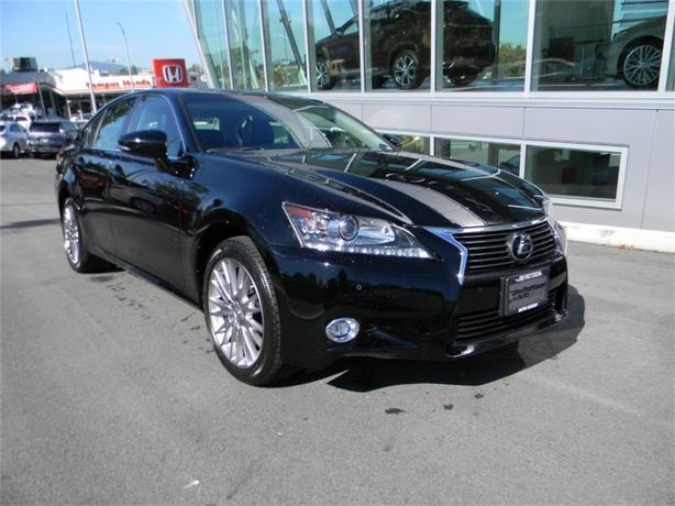 2014 Lexus GS 350 NAVIGATION ONE OWNER LOCAL B.C