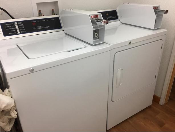 Ge Commercial Washer And Dryer Coin Op Victoria City