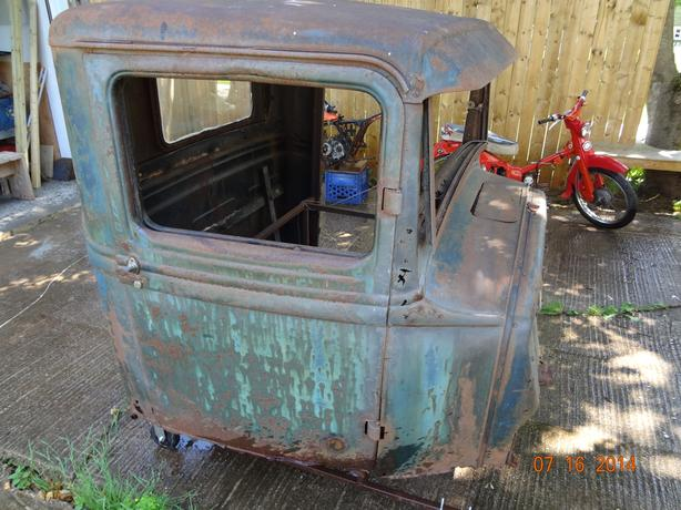 1932 ford pick up cab rat rod