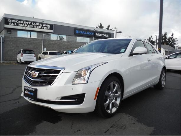 2016 Cadillac ATS Luxury - Leather, Bluetooth, Pwr Moonroof, Alloy
