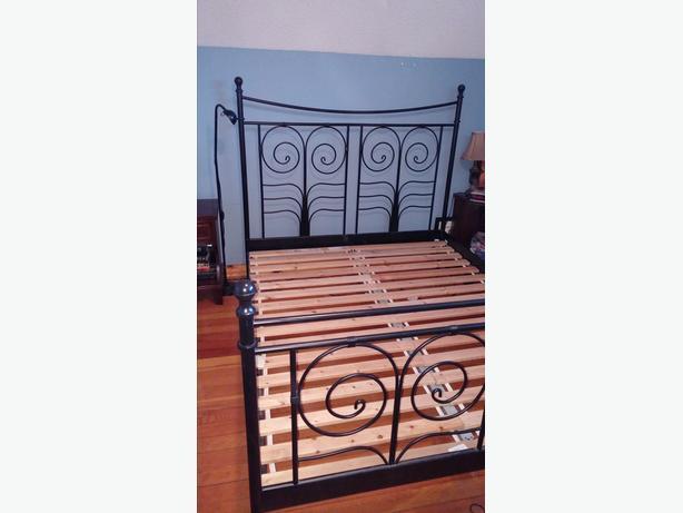 Ikea Noresund Queen Size Bed Frame