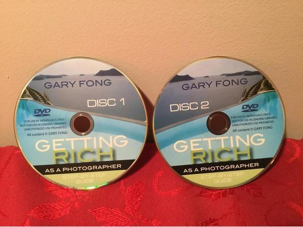 Photographer GARY FONG - Two Disc Set - GETTING RICH