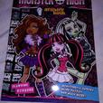 Monster High Activity Book Stickers Puzzles and More