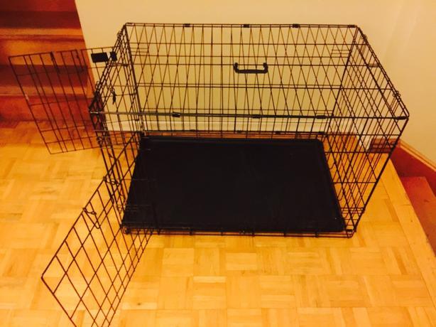 Top Paw Double Door Dog Crate Intermediate Size Oak Bay Victoria