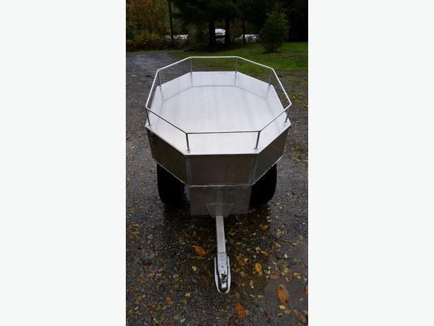 Aluminum atv trailer