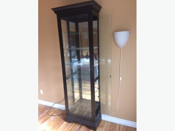 glass display cabinet for sale nepean ottawa. Black Bedroom Furniture Sets. Home Design Ideas