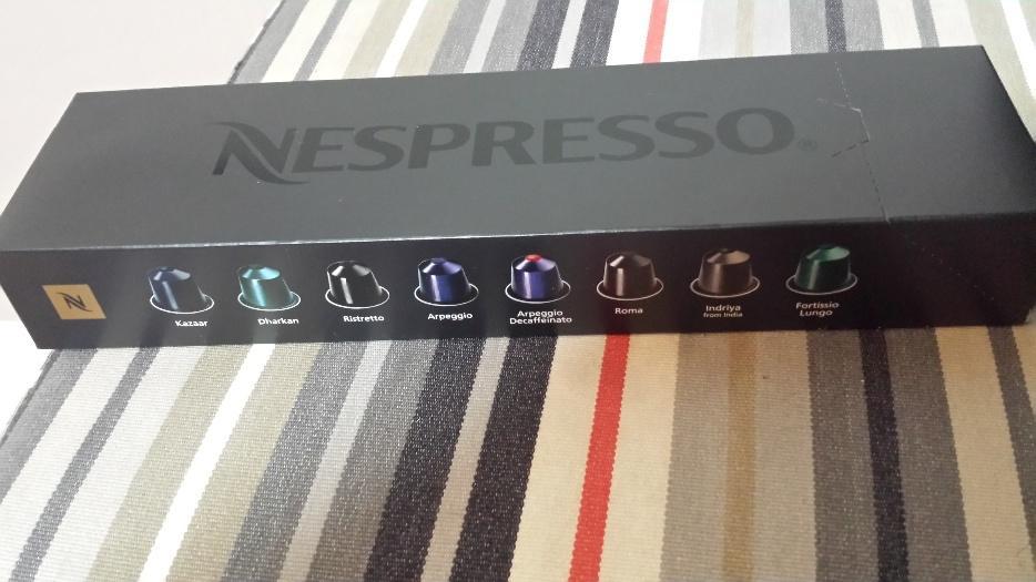Nespresso Inissia Machine & 14 Capsule of coffee Kanata, Ottawa -> Nespresso Ottawa