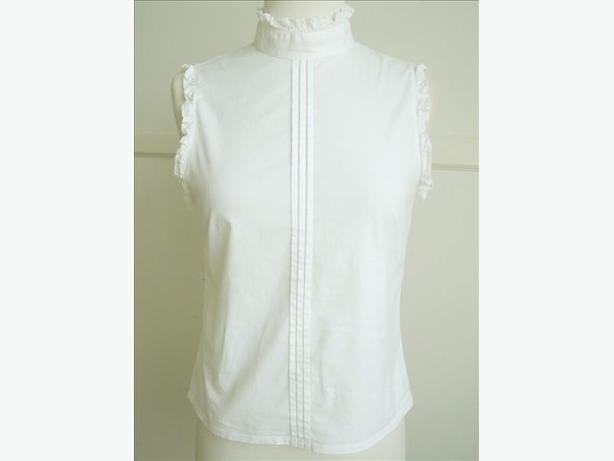 Kookai - White Sleeveless Shirt