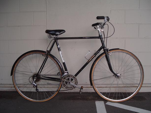 large vintage Raleigh Sprite road/cruiser bike