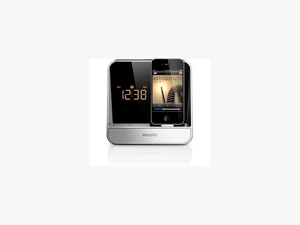 philips alarm clock radio for ipod iphone aj5300d 37 east regina regina mobile. Black Bedroom Furniture Sets. Home Design Ideas