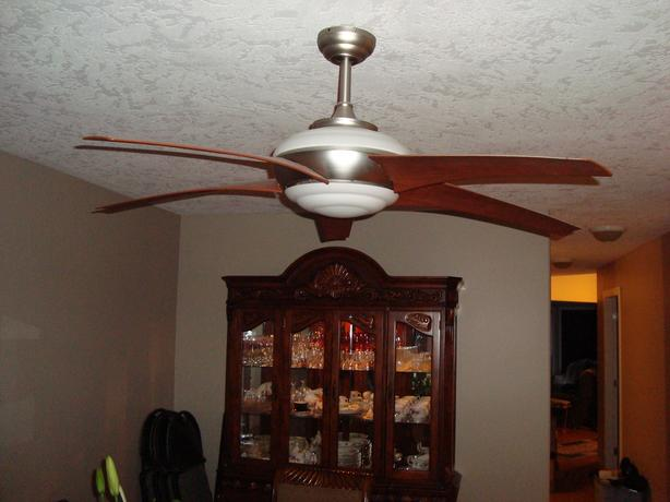 Hampton Bay Remote Lighted Ceiling Fan Malahat Including