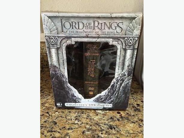 Lord Of The Rings Collector 39 S Dvd Box Set With Bookendsd West Shore Langford Colwood Metchosin