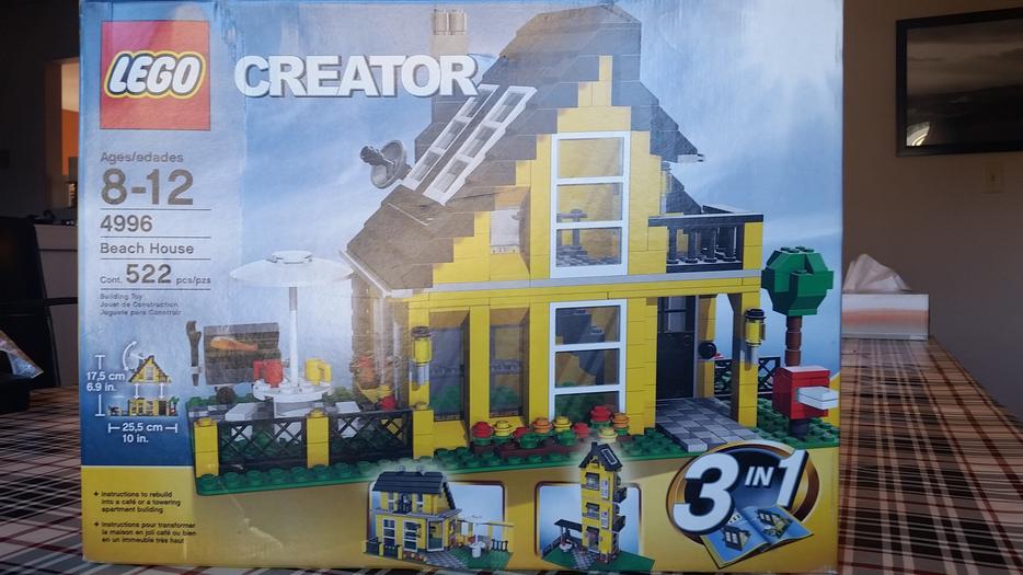 lego creator beach house 3 in 1 saanich  victoria