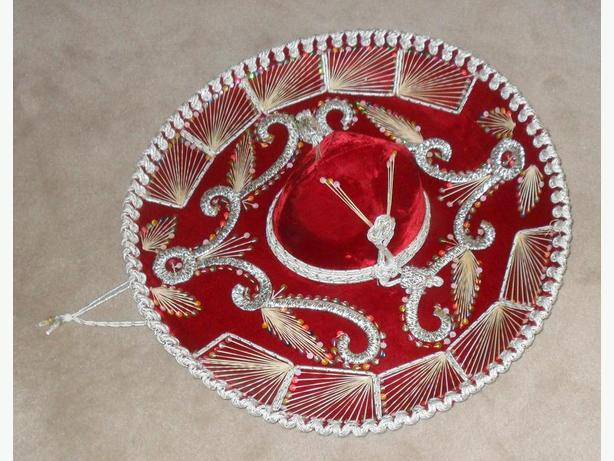 Like New, Never Used Big Ornate Mexican Sombrero Hat