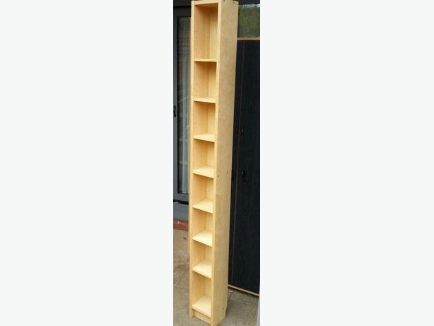 2 Ikea Birch Gnedby CD Shelves