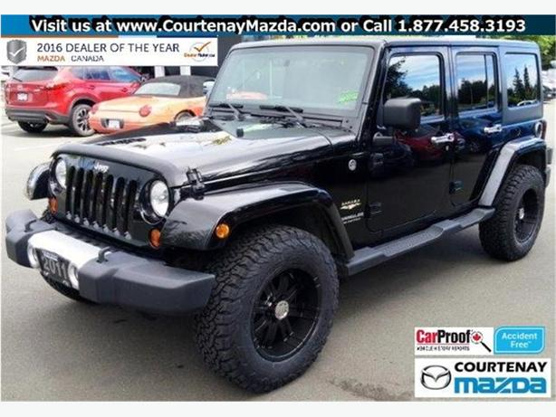 2011 Jeep Wrangler Unlimited Sahara 4D Utility 4WD